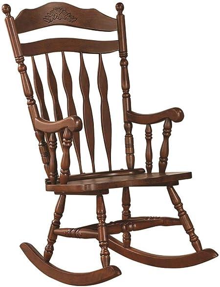 Reviewed: Windsor Rocking Chair Medium Brown