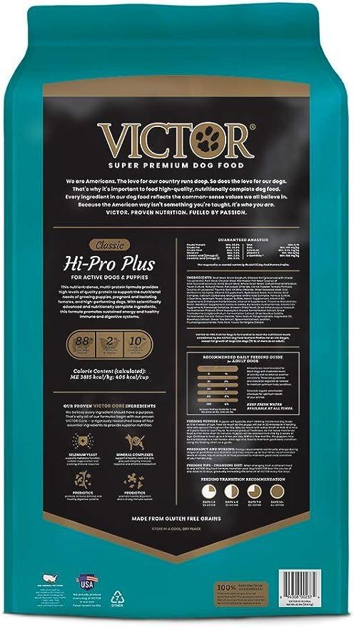 Victor Dog Food Reviews >> Victor Classic Hi Pro Plus Dry Dog Food