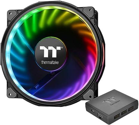 Thermaltake Riing Plus 20 RGB TT Premium Edition - Ventilador de ...
