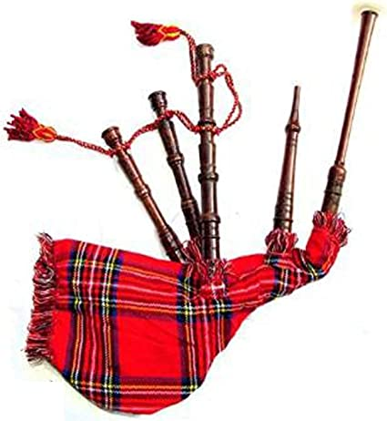 Kids Playable Bagpipe//Junior Playable Bagpipes Toy Bagpipe In Various Tartans