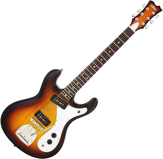 ariaproii DM-01 Retro Classics – Guitarra eléctrica 3TS: Amazon.es ...