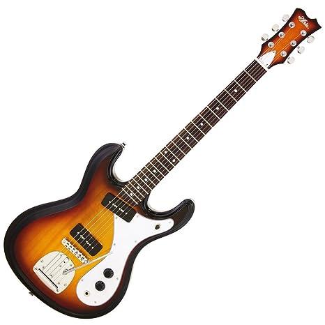 ariaproii DM-01 Retro Classics - Guitarra eléctrica 3TS: Amazon.es ...