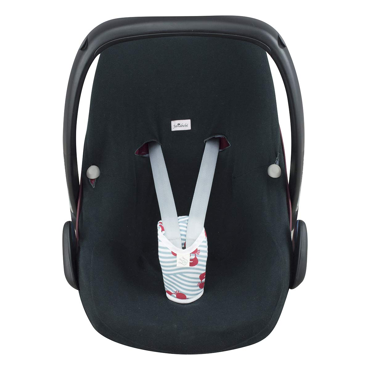 Janabebe Baby Crotch Protector and Stroller Black Rayo