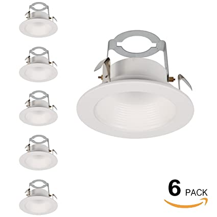6 pack hykolity 4 white baffle recessed can light trim for 4 inch 6 pack hykolity 4 white baffle recessed can light trim for 4 inch recessed aloadofball Gallery