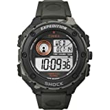 Timex Men's Expedition Vibe Shock Digital Watch with LCD Dial Digital Display and Resin Strap