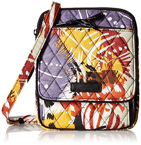 Vera Bradley Mini Hipster, Painted Feathers - Vera Bradley Mini Hipster