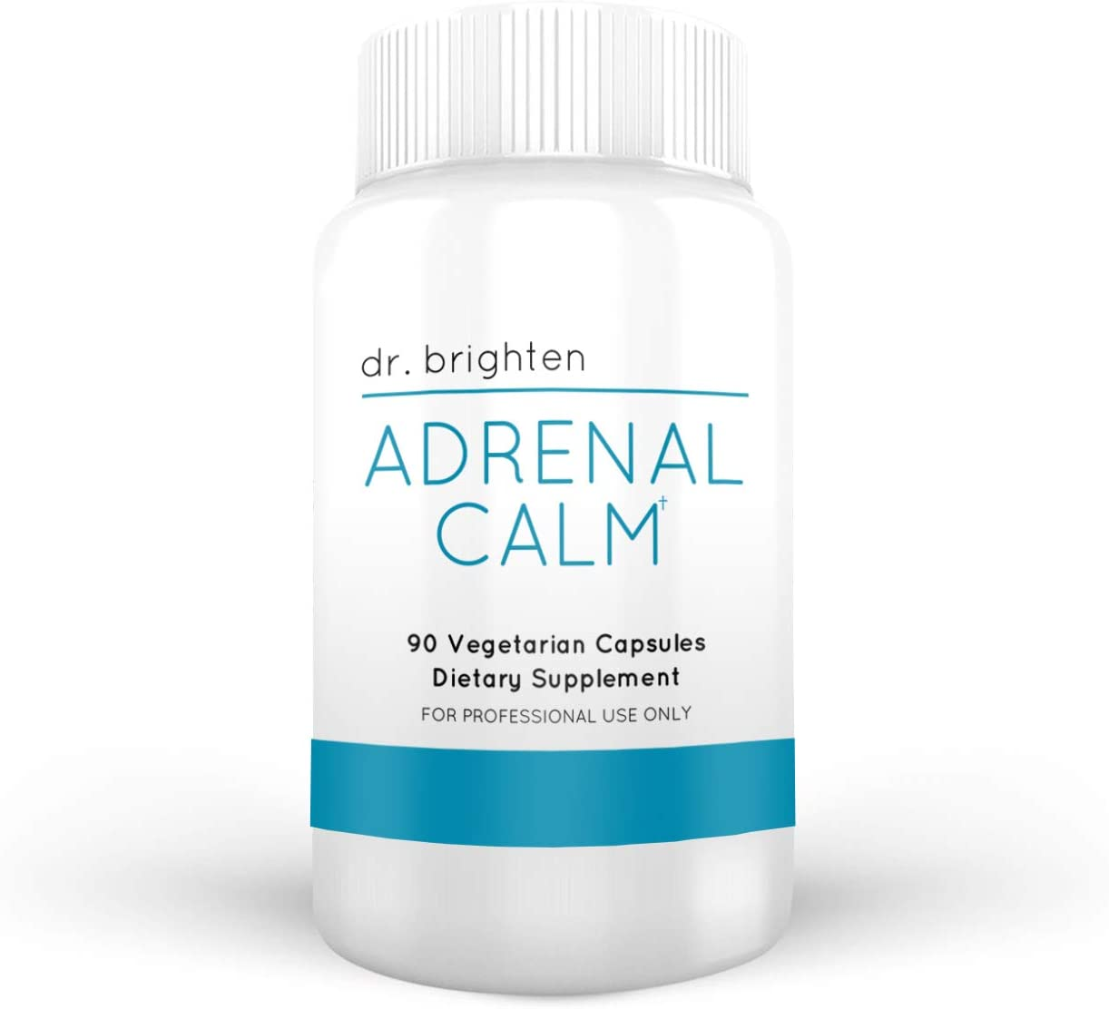 Dr. Brighten Adrenal Calm - Dietary Supplement Drops Stress Hormones Supports Restful Sleep and Cortisol Balance with Ashwagandha Adaptogenic Herb