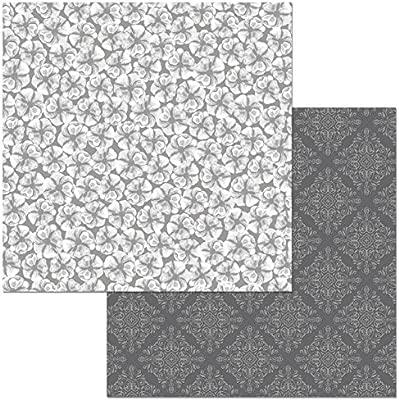American Crafts - Corbata negra de doble cara, cartulina de 30,48 ...
