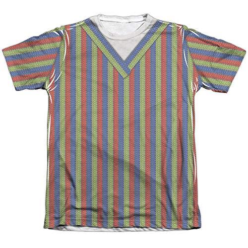 Sesame Street Bert Costume Mens Sublimation Shirt White Md