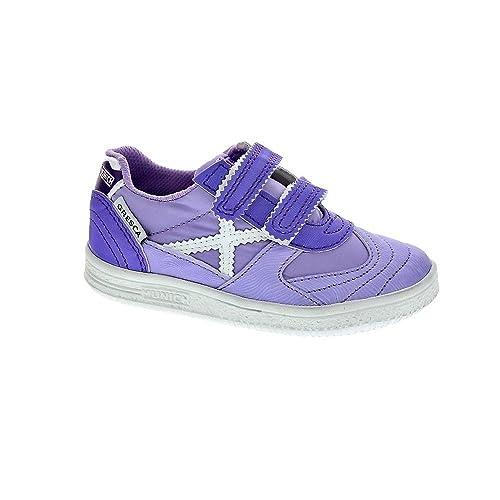 Munich Sport Baby Gresca - Zapatillas Niña Violeta Talla 23: Amazon.es: Zapatos y complementos