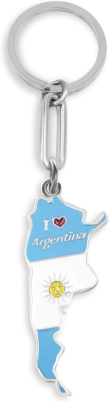 Keychain Argentina MAP