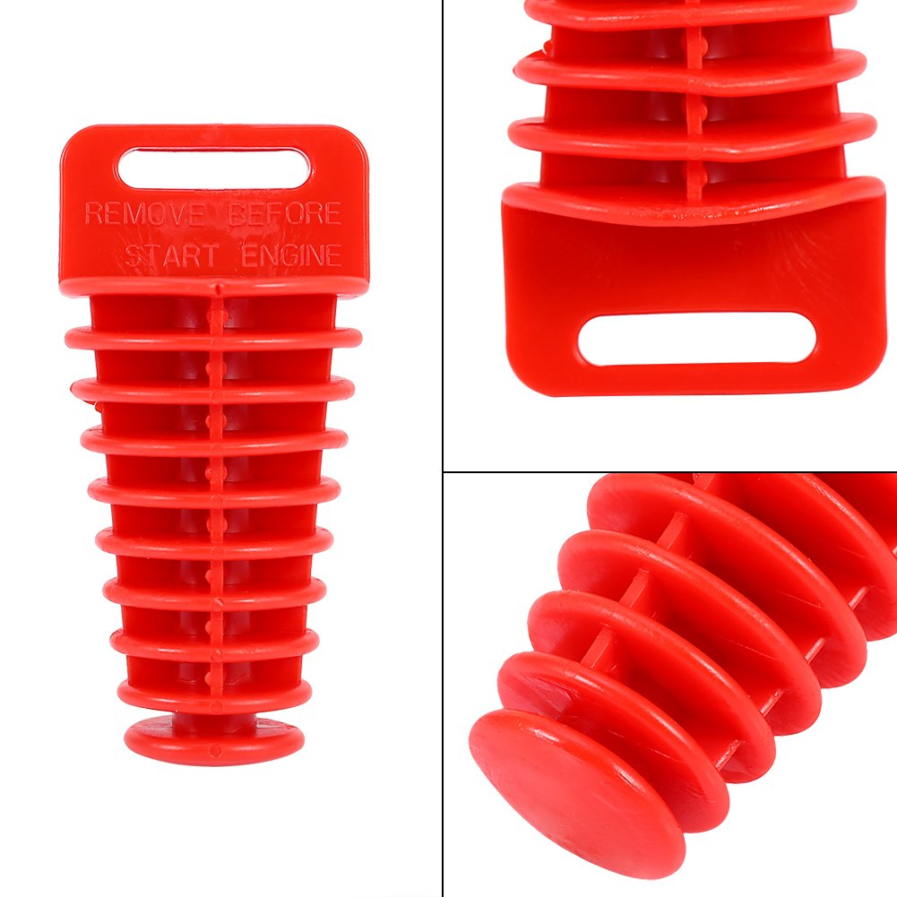 Tap/ón de escape del silenciador de escape universal Tap/ón de tap/ón de lavado para 2 y 4 tiempos Motocicleta Dirt ATV Quad.