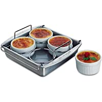 Chicago Metallic Professional 6-Piece Crème Brulee Set (77106) - Grey