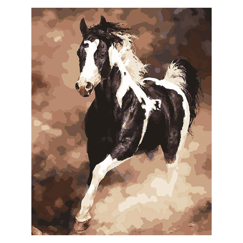 Diamond Painting, Aediea 5D DIY running Horse Diamond Painting ricamo Full drill Cross Stitch A