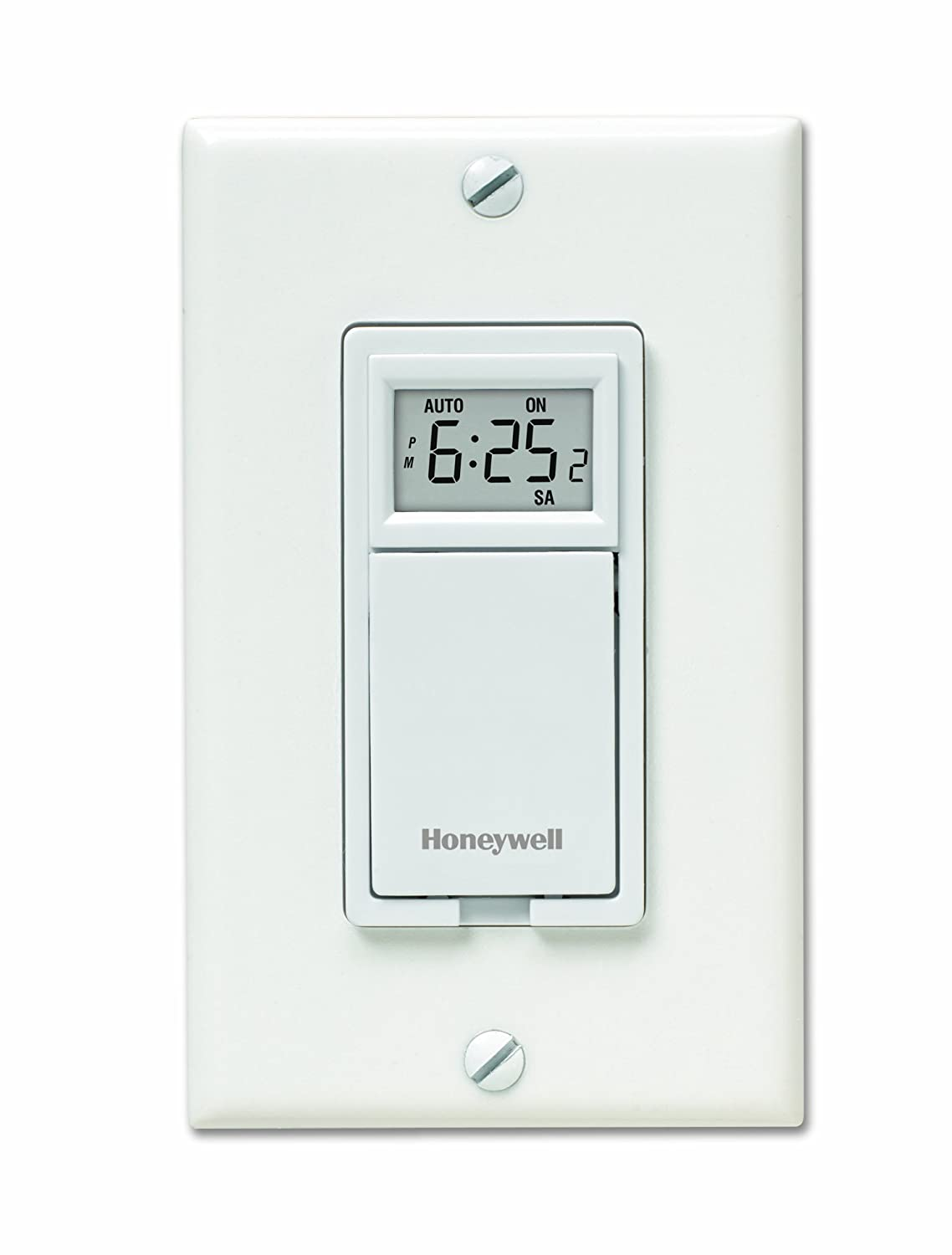 Honeywell RPLS730B1000/U 7-Day Programmable Light Switch Timer ...
