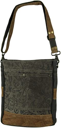 Amazon Com Myra Bag Walnut Upcycled Canvas Shoulder Bag S 1362 Gray One Size Medium Shoes Here at the strategist, we like to think of ourselves as crazy (in the good way) about the stuff we buy (like pillows), but as much as we'd like to, we can't try everything. amazon com