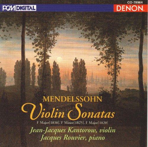 Mendelssohn Violin Sonata (Violin Sonatas)