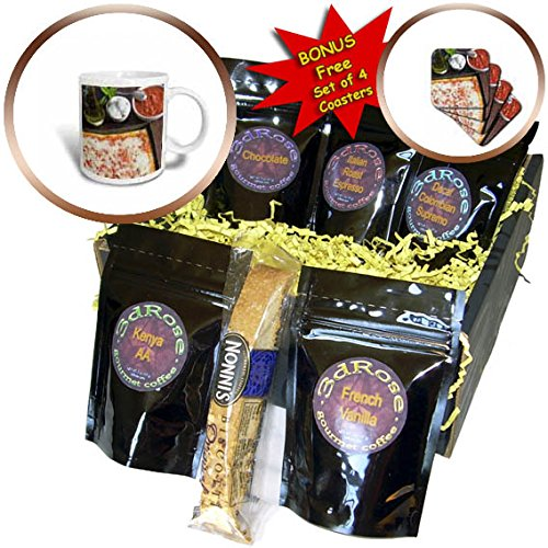 3dRose Danita Delimont – food – Homemade Margherita pizza – Coffee Gift Baskets – Coffee Gift Basket (cgb_257731_1)