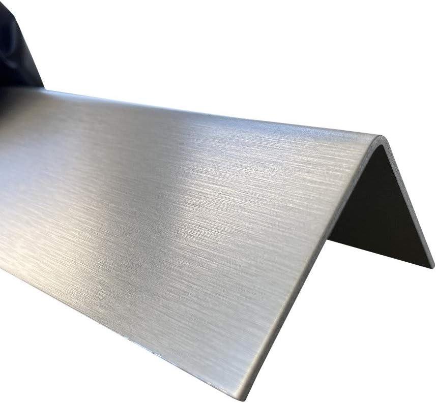 Edelstahl Winkel 15x15 Kantenschutz 1000mm V2A Winkelprofil Stahlwinkel gekantet