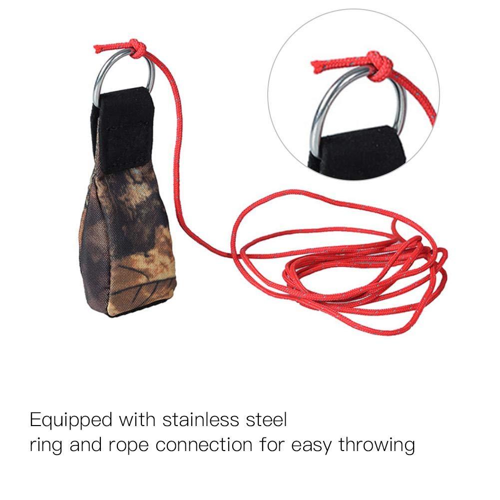 Fishlor Baumpfleger-Wurfs-Tasche Baumpfleger-Baum-Klettern Spelunking Rope Throwing Weight Bag im Freien