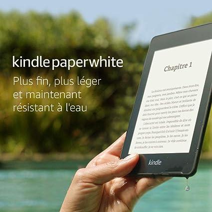 """Kindle Paperwhite - Résistant à l'eau, Écran haute résolution 6"""", 32 Go - Avec offres spéciales"""