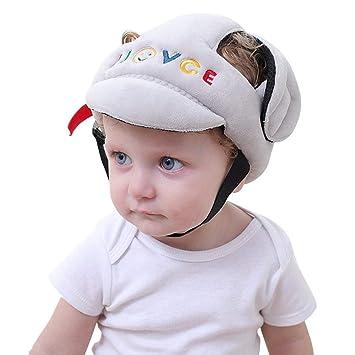 Babys Kleinkind Anti-Kollisions Schutzhelm Kopfschutz Schutzkappe Weich Schwamm