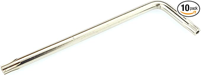 Silverhill Tools L Key Torx Security Style TS20 10 Pack ALK10TS20 Hexalobe S4.5