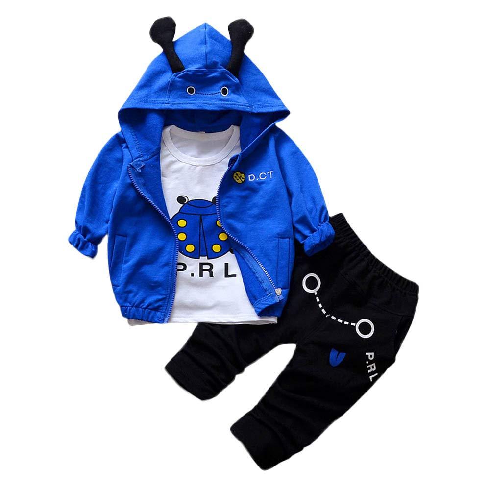 Hosen Baby Kleidung Gentleman Jacke Mantel Sets Wei/ß Langarmshirt Longra Babyjacke Baby Anzug Jungen Sakko /& Anzug-Hosen Baby Streifen Blazer Anzug Smoking Anzugjacke