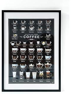 Poster für die küche  Amazon.de: Poster Küche DIN A4, Poster Kaffee, Wandbild Küche ...