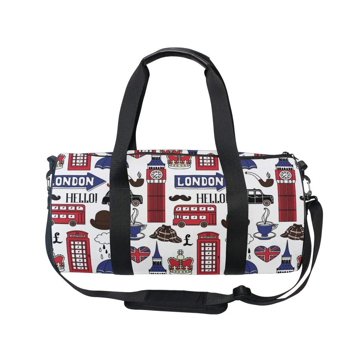 oulianスポーツバッグインドWildキャメルメンズDuffle Luggage TravelバッグKid軽量ジムバッグ  picture3 B07F29CCFL