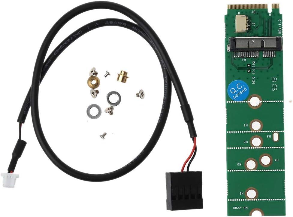 BCM94360CS2 BCM943224PCIEBT2 To NGFF M.2 Adapter Card Module 12+6 Pin Wireless