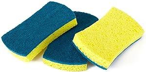 Full Circle Refresh Scrubber Sponges, Set of 3