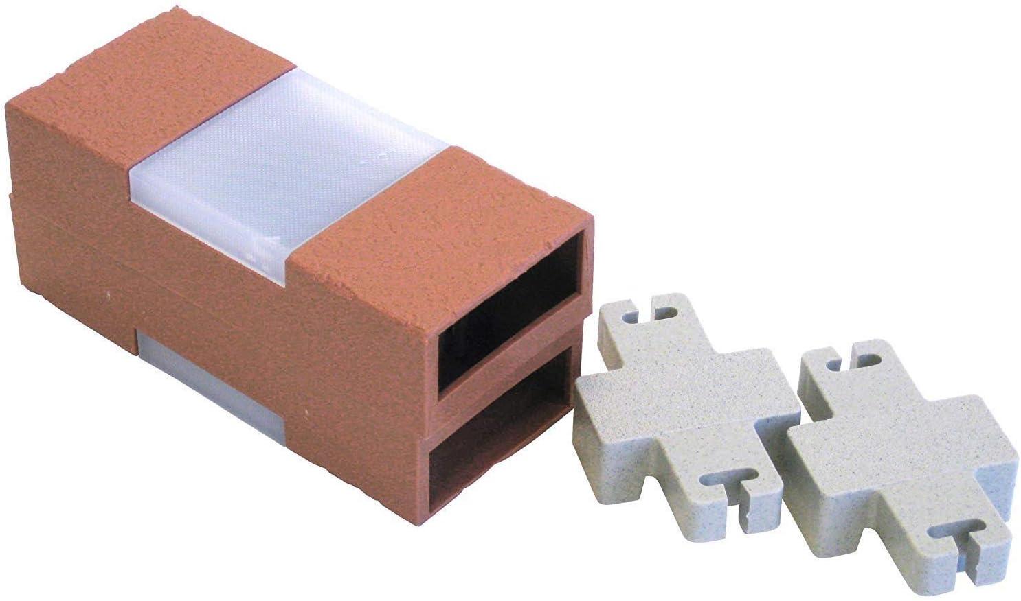 Argee RG873 Brick Edging, Standard, Terra Cotta