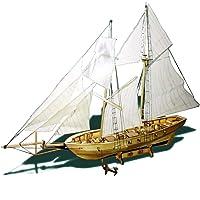 KKmoon Modelo Velero,Juguete de Barco de Vela,Madera,Kits