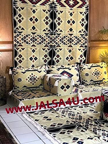Arabic Floor Seating Set 2m Sahara Arabisque – Foam filled