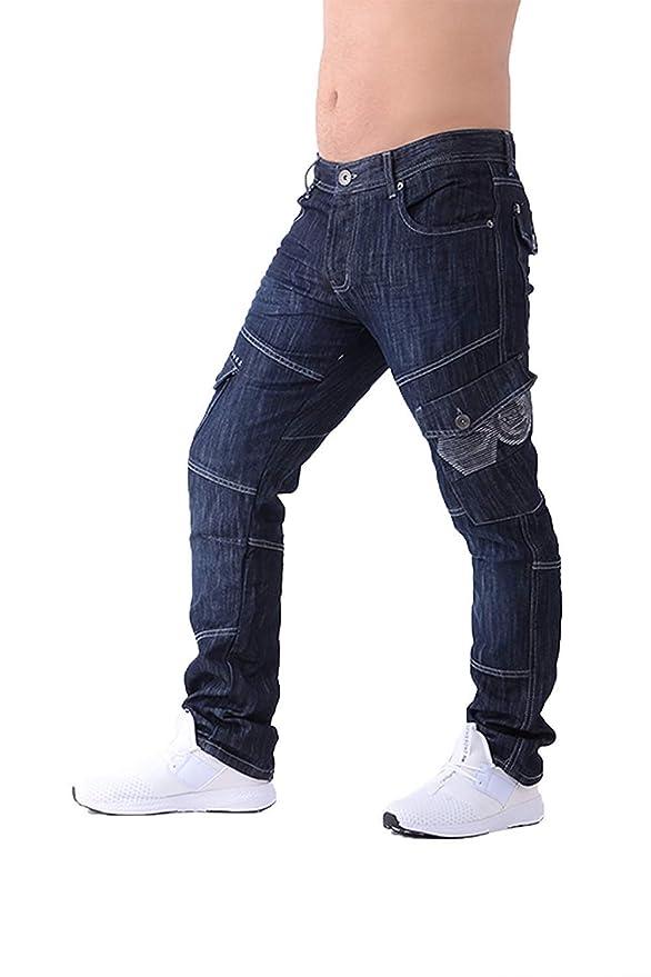 Pantalones vaqueros tipo cargo para hombre Crosshatch Combat ...