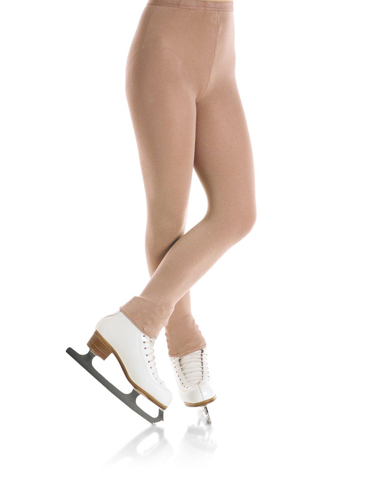 Child Footless Skating Tights - 3373 (12-14 Sun) by Mondor