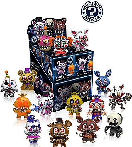 Funko Mystery Mini Five Nights at Freddy Series 2 - Sister Location Display Box of 12 Action ()
