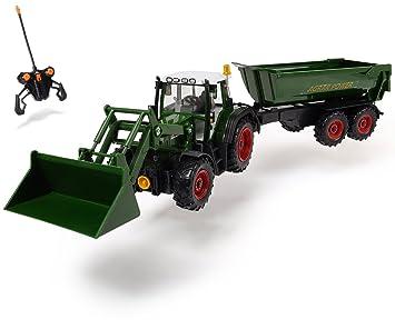 3c8fc82343070c Dickie Toys - 201119266 - Tracteur - Radiocommandé  Amazon.fr  Jeux ...