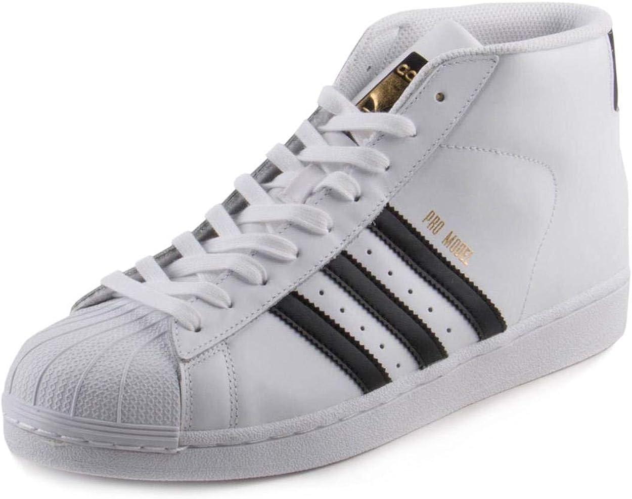soplo Glorioso tratar con  Amazon.com | adidas Originals Men's Pro Model Running Shoe | Fashion  Sneakers