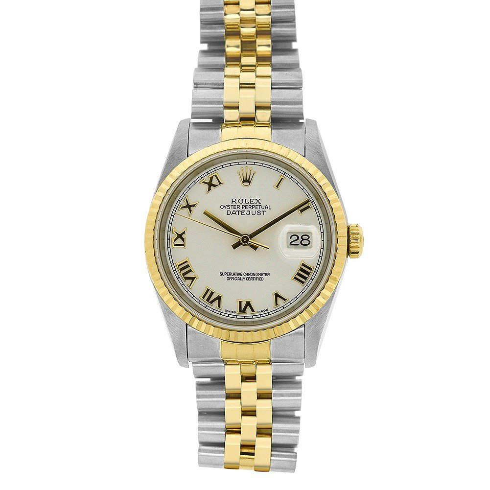 Rolex Datejust swiss-automatic mens Watch 16233 (Certified Pre-owned)