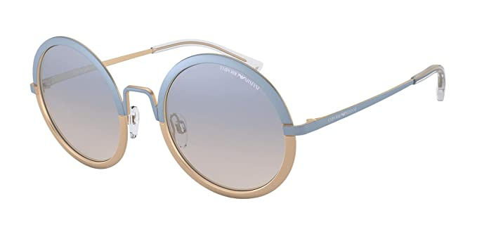 Emporio Armani 0EA2077 Gafas de sol, Blue/MT Light Bronze ...