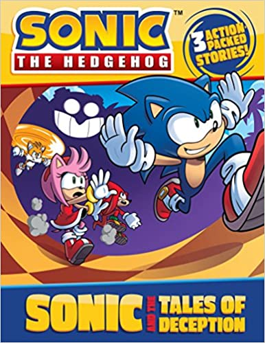 Amazon Com Sonic And The Tales Of Deception Sonic The Hedgehog 9781524784744 Black Jake Mcginty Ian Books