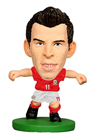best website 73bcb 6a37a SoccerStarz Unisex-Youth Officially Licensed Wales National ...
