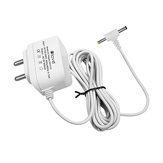 Elove 6v Acdc Power Adapter For Blood Pressure Monitor With 10 Ft