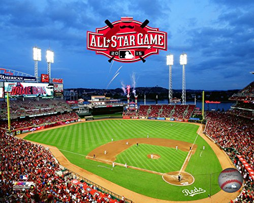 Great American Ball Park Cincinnati Reds 2015 MLB All Star Game Photo (Size: 8