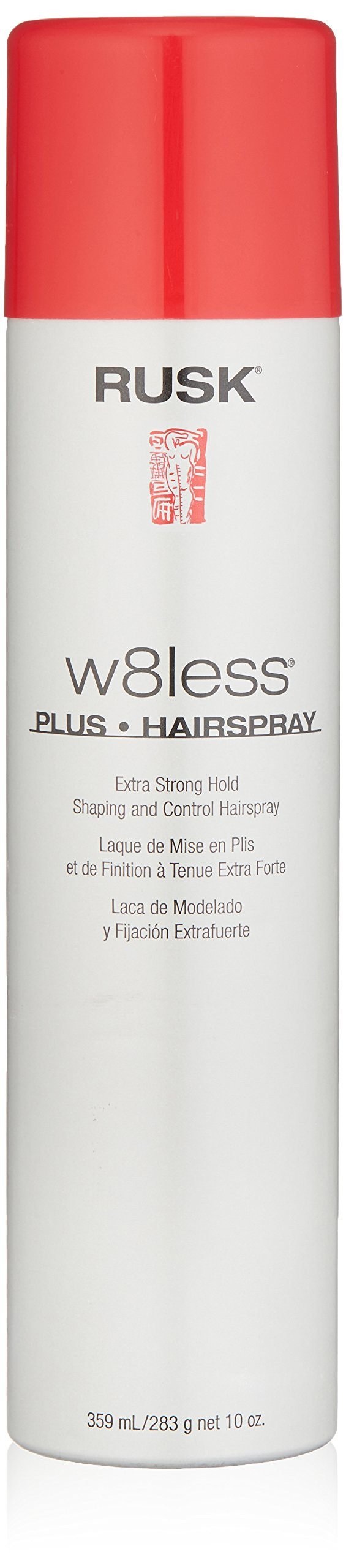 RUSK Designer Collection W8less Plus Extra Strong Hairspray, 10 oz.