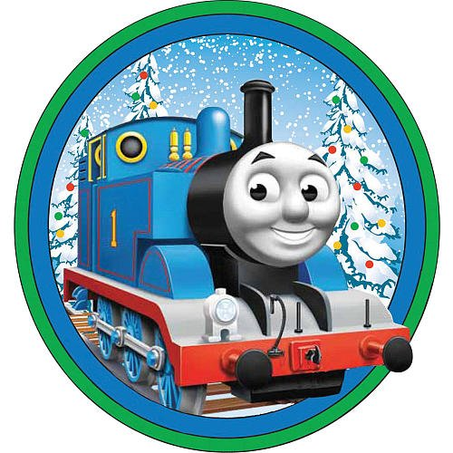 Thomas and Friends Christmas Tree Ornament Set - 5-pack: Amazon.co ...