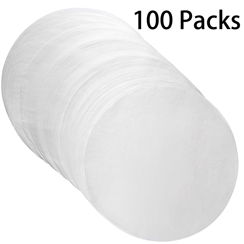 Parchment Paper Rounds - Air Fryer/Cake/Cheesecake Baking Circles Pans Liners(7 inch) CocoHut