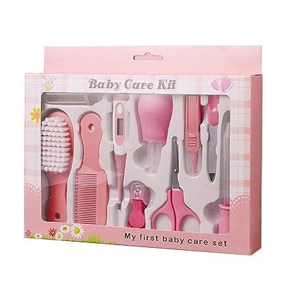 PEPECARE Baby Grooming Kit 10pcs Recién nacido Cuidado de la salud del cuarto de niños Conjunto